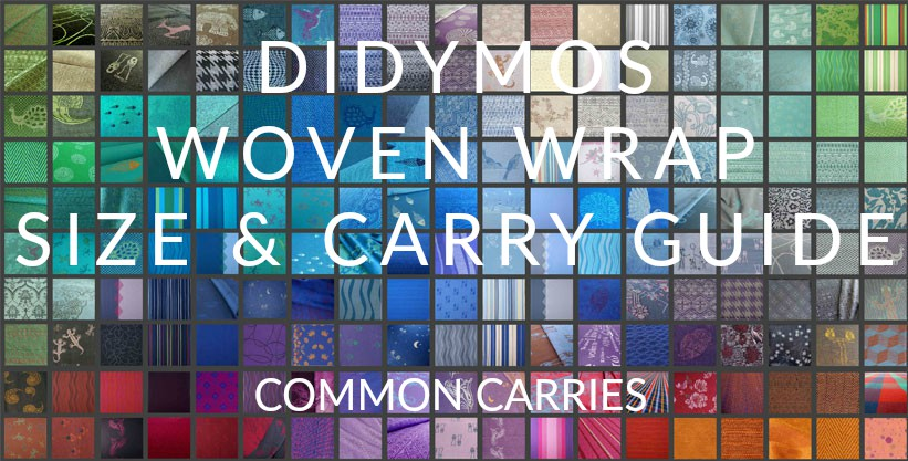 Didymos Woven Wrap Sizes Common Carries Birdie S Room Blog