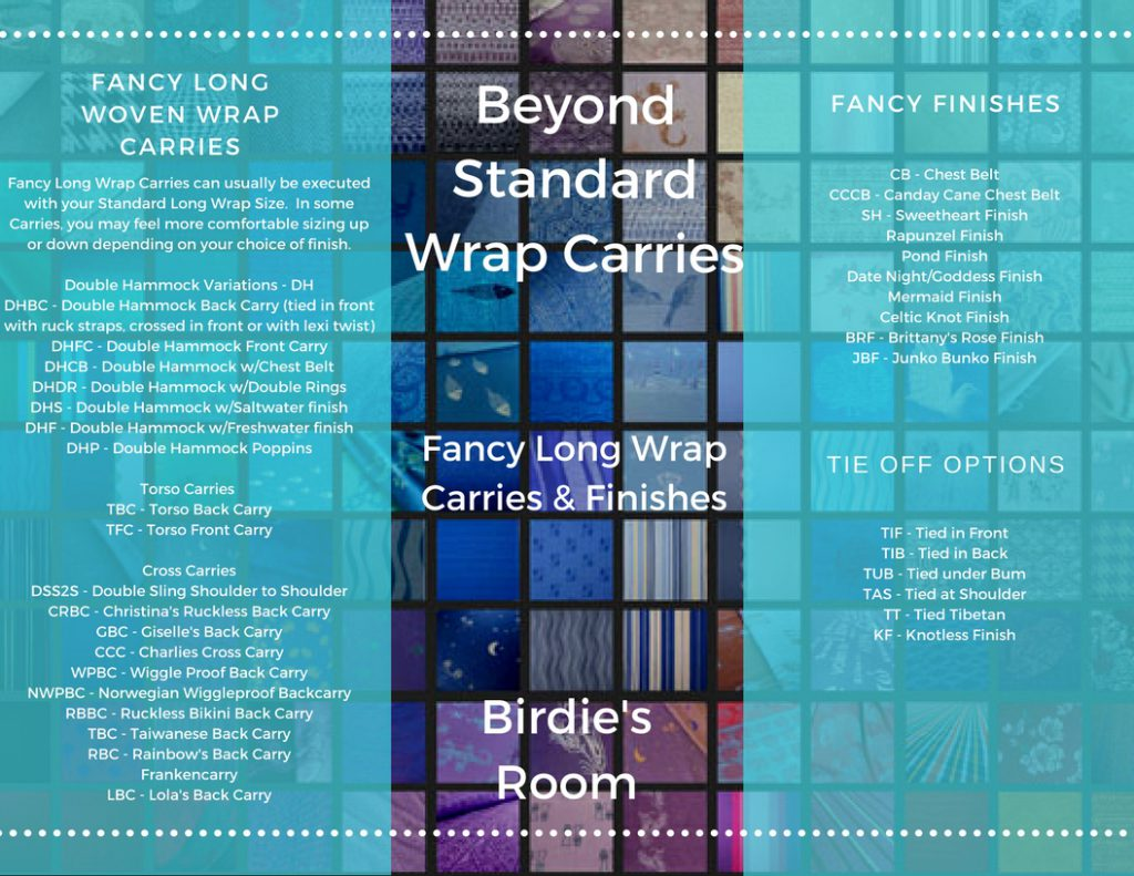 Didymos Woven Wrap Sizes For Fancy Carries Birdie S Room Blog