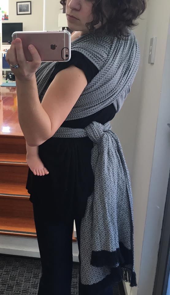 Prima Domina Woven Baby Wrap   Birdie's Room
