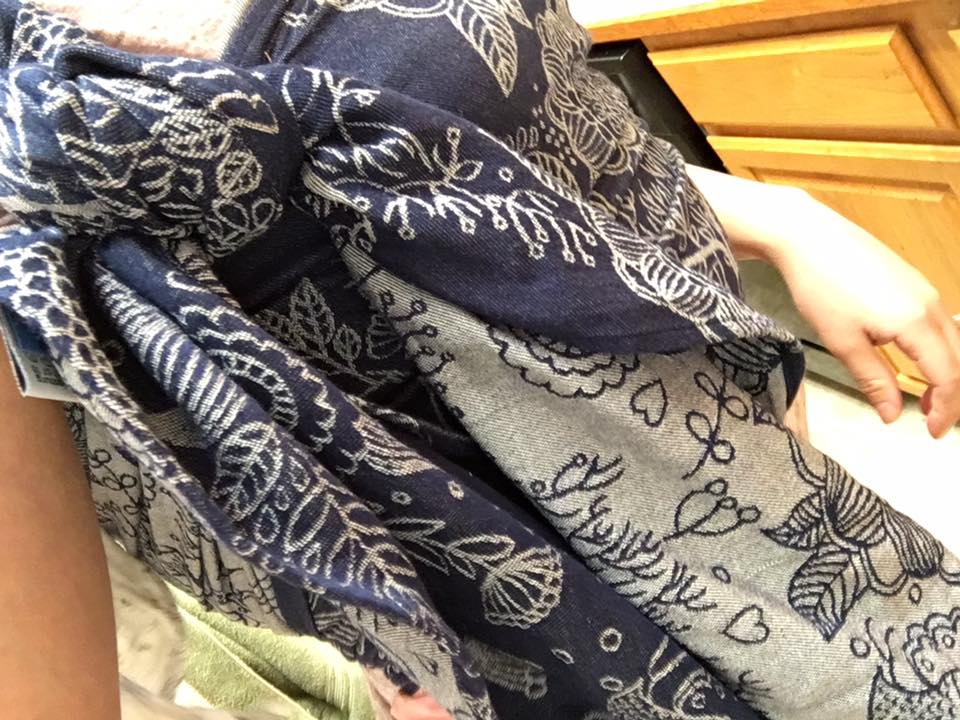 Dusty Polito Magic Forest Woven Baby Wrap   Birdie's Room