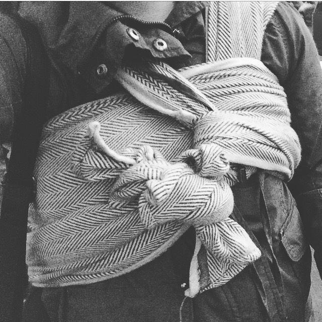 Didymos Lisca Grigio Woven Baby Wrap   Birdie's Room