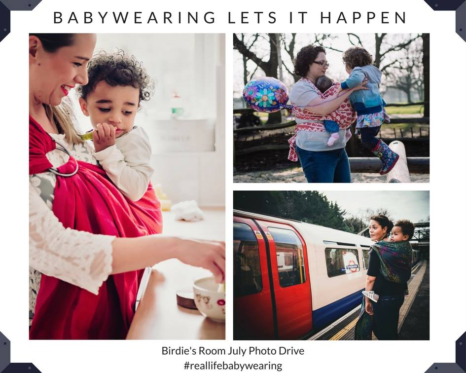 Babywearing Lets it Happen
