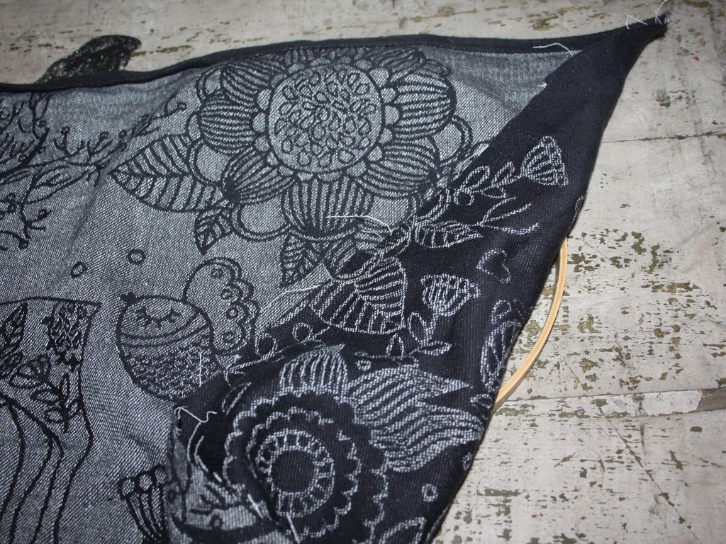 DIDYMOS Wrap Scrap Hoop Wall Hanging