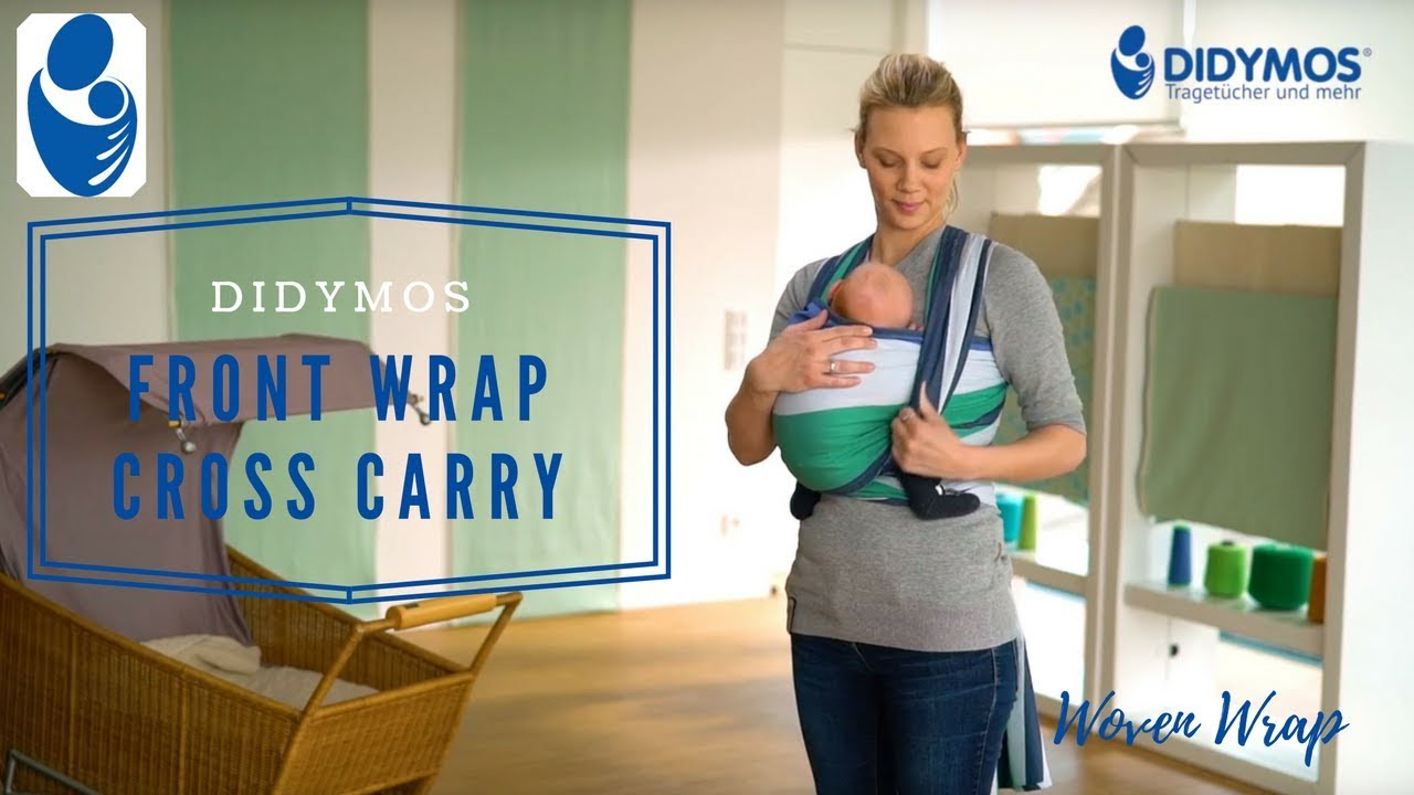 DIDYMOS Woven Wraps Front Wrap Cross Carry